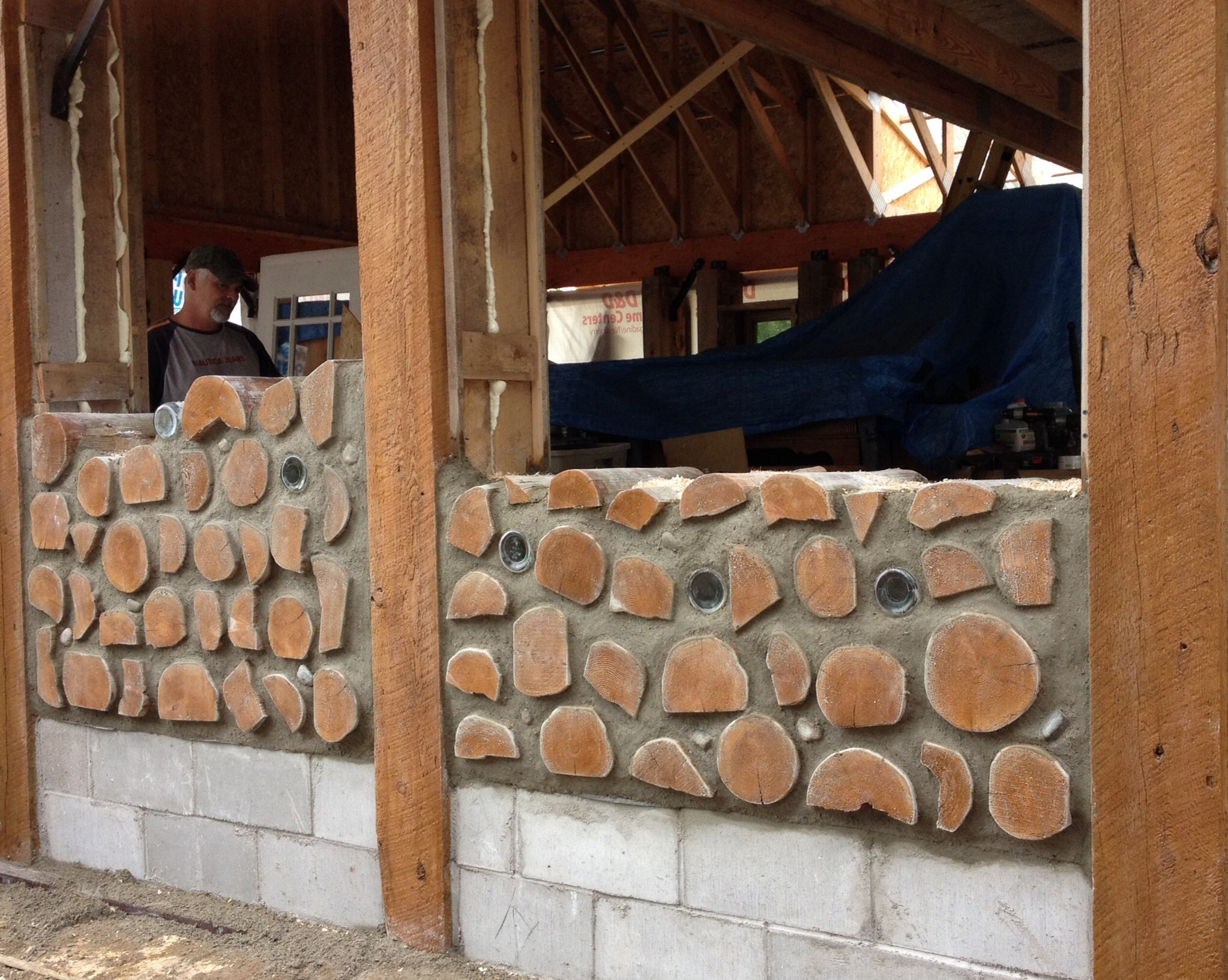 Cordwood Construction 2013 2014 Northern Walkabout
